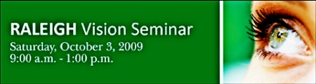 Raleigh vision seminar