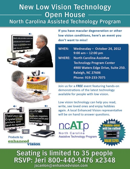 North Carolina Assisted Technology Program 3